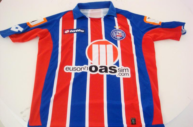 Camisas dos times da atual Serie A em 2010: Bahia