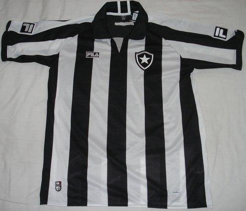 Camisas dos times da atual Serie A em 2010: Botafogo