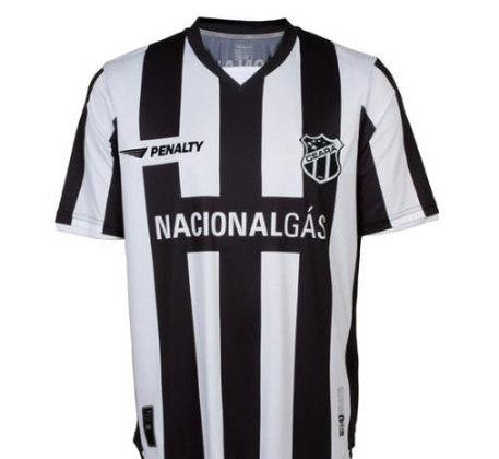 Camisas dos times da atual Serie A em 2010: Ceará