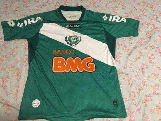 Camisas dos times da atual Serie A em 2010: Coritiba