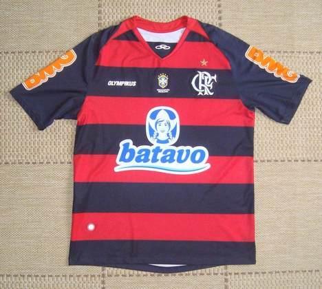 Camisas dos times da atual Serie A em 2010: Flamengo