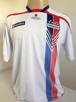 Camisas dos times da atual Serie A em 2010: Fortaleza