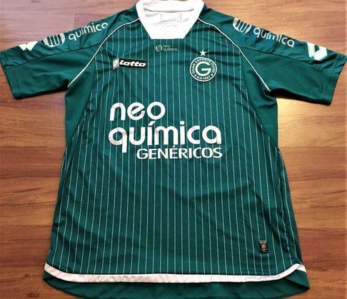 Camisas dos times da atual Serie A em 2010: Goiás