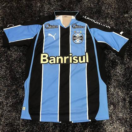 Camisas dos times da atual Serie A em 2010: Grêmio