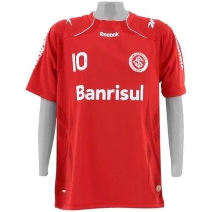 Camisas dos times da atual Serie A em 2010: Internacional