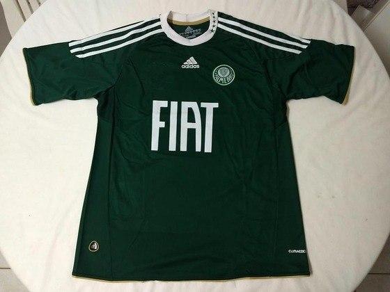 Camisas dos times da atual Serie A em 2010: Palmeiras