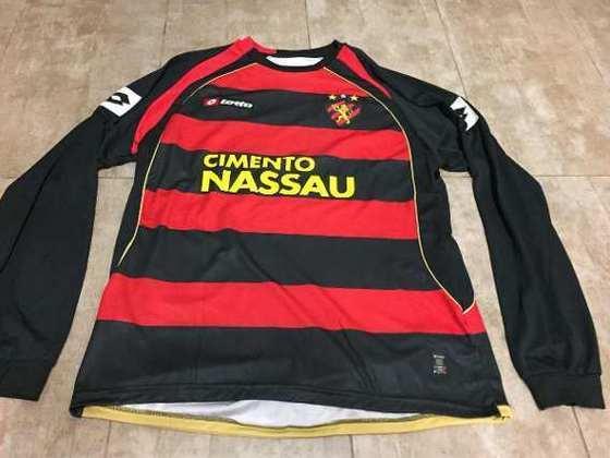 Camisas dos times da atual Serie A em 2010: Sport