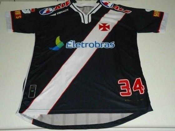 Camisas dos times da atual Serie A em 2010: Vasco