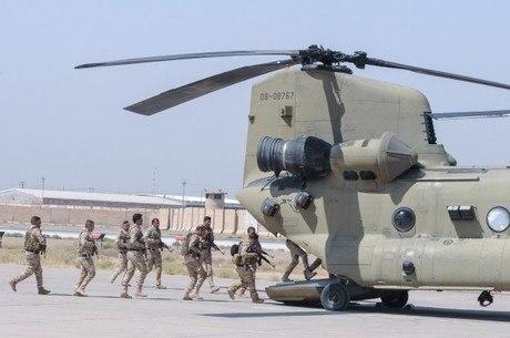 Base acolhe tropas dos EUA e Iraque, perto de Bagdá