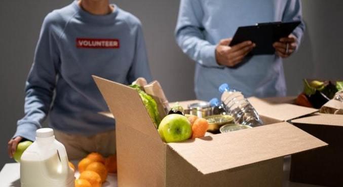 Arrecadação de alimentos pretende amenizar o risco de fome nas comunidades