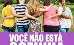 O Campeonato Brasileiro feminino começa nesta quarta-feira, com cinco meses de atraso gerado pela pandemia do novo coronavírus. O Santos aproveitou a data para lançar uma campanha importante contra a violência doméstica, chamada