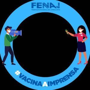 Campanha da Fenaj por vacinação da imprensa