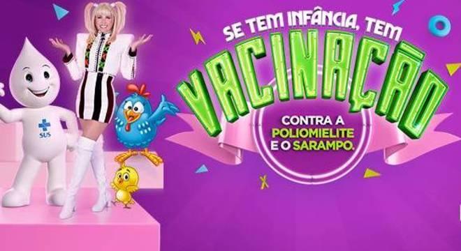 A Campanha Nacional de Vacinação vai até dia 31 de agosto