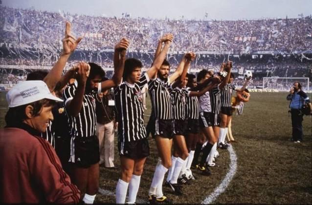 Campanha do Corinthians no Campeonato Brasileiro de 1982 - 4º colocado. Eliminado nas semifinais