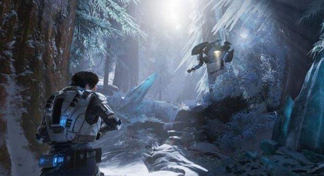 Campanha do Gears 5 é o grande destaque do game.
