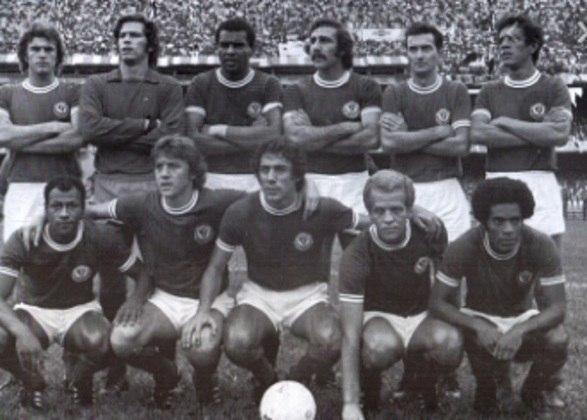 Campanha do Palmeiras na Libertadores 1974: o Verdão saiu na fase de grupos, já que só o primeiro colocado passava para a próxima fase. Foram seis pontos em seis jogos, com três vitórias e três empates.