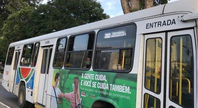 Campanha ônibus