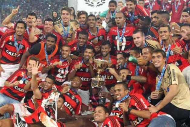 Campeão Carioca de 2014: conquistou o campeonato após dois empates contra o Vasco