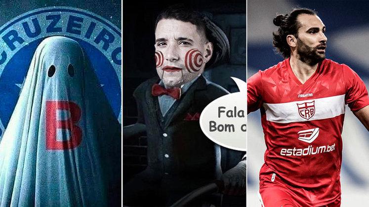 Campeão da Copa do Brasil em 2018 e do Campeonato Mineiro em 2019, o Cruzeiro tem convivido com uma série de más notícias, dentro e fora de campo, desde o primeiro semestre do ano passado. O clube, que antes tirava onda com os rivais por nunca ter caído, chegou à zona de rebaixamento da Série B esse ano e a crise parece estar longe de terminar. Contamos a história dessa ingrata trajetória da Raposa em memes e você pode conferir na galeria. (Por Humor Esportivo)