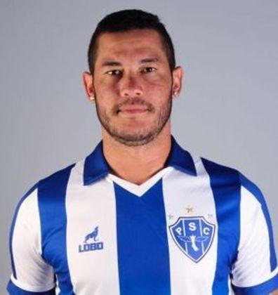 Campeão da Copa do Brasil pelo Palmeiras e com passagem pelo Paysandu, BETINHO hoje é artilheiro do Altos-PI na Série D
