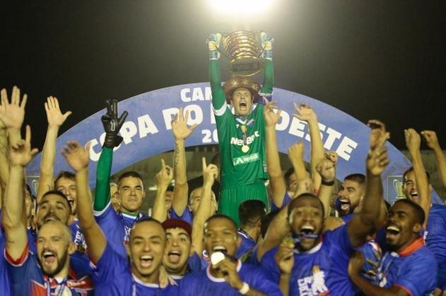 Campeão da Copa do Nordeste - Na mesma temporada também foi campeão da Copa do Nordeste, após vencer os dois jogos da finalíssima sobre o Botafogo-PB pelo placar mínimo de 1 a 0, conquistando assim seu terceiro título como treinador e terceiro título seguido no comando do Fortaleza em apenas seis meses.