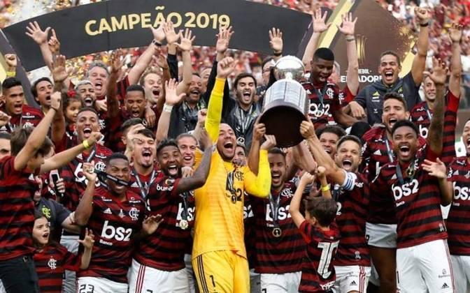 Campeão da Libertadores de 2019: Flamengo venceu o River Plate na final e conquistou o bicampeonato.