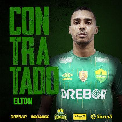 Campeão da Série B com o Vasco e com passagens por Corinthians, Flamengo e Vitória, ELTON é um dos trunfos do Cuiabá para a reta final da Série B