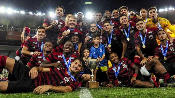 Campeão da Taça Rio de 2019: Flamengo 1 (3) x 1 (1) Vasco.