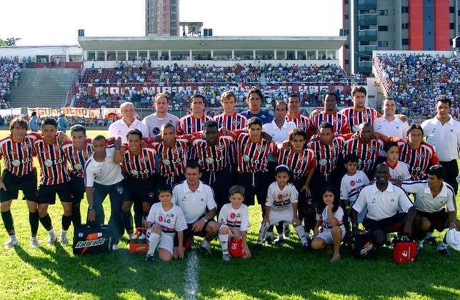 Campeão do Campeonato Paulista (2005) - Começa o ano de ouro, já vencendo o estadual em cima do Corinthians.