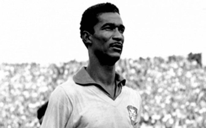 Campeão do mundo em 1958 e 1962, DIDI também está na lista de grandes artilheiros da Seleção. O