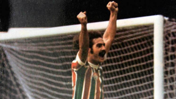 Campeão do Mundo em 1970, Rivelino se eternizou no Fluminense e no Corinthians. Não poderia ficar fora da homenagem.