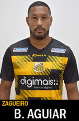 Campeão paulista, da Copa do Brasil e da Copa Libertadores com o Santos, BRUNO AGUIAR atualmente defende o Novorizontino na Série D