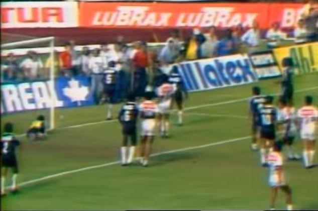 Campeonato Brasileiro 1989 - São Paulo x Vasco - campeão: Vasco. Em final única no Morumbi, o Cruzmaltino levou a melhor e venceu por 1 a 0, com gol de Sorato. Como o Vasco tinha a melhor campanha, não foi necessário o segundo jogo.