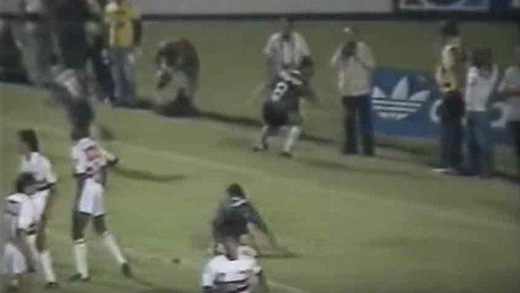 Campeonato Brasileiro 1990 - São Paulo x Corinthians - campeão: Corinthians. Em dois jogos no Morumbi, o Alvinegro venceu ambos por 1 a 0 e sagrou-se campeão brasileiro.