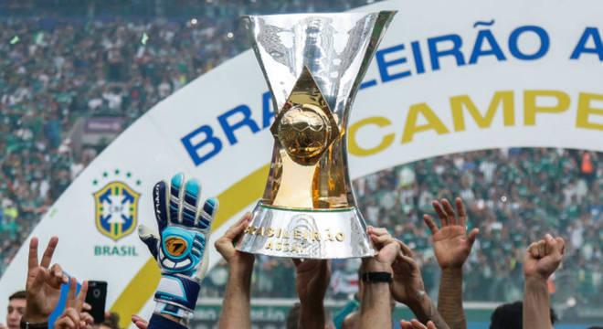 A taça do Campeonato Brasileiro