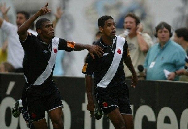 Campeonato Carioca 2004: Vasco 2x0 Portuguesa - São Januário - Gols: Alex Silva e Marcelão.