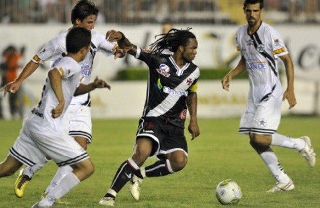 Campeonato Carioca 2011: Vasco 0x1 Resende - São Januário - Gol: Alexandro.