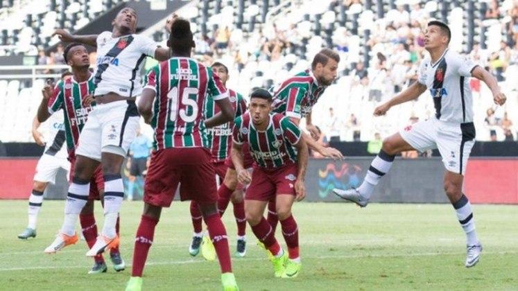 Campeonato Carioca 2017: Vasco 0x3 Fluminense - Estádio Nilton Santos - Gols: Wellington Silva, Henrique Dourado e Marcos Jr.