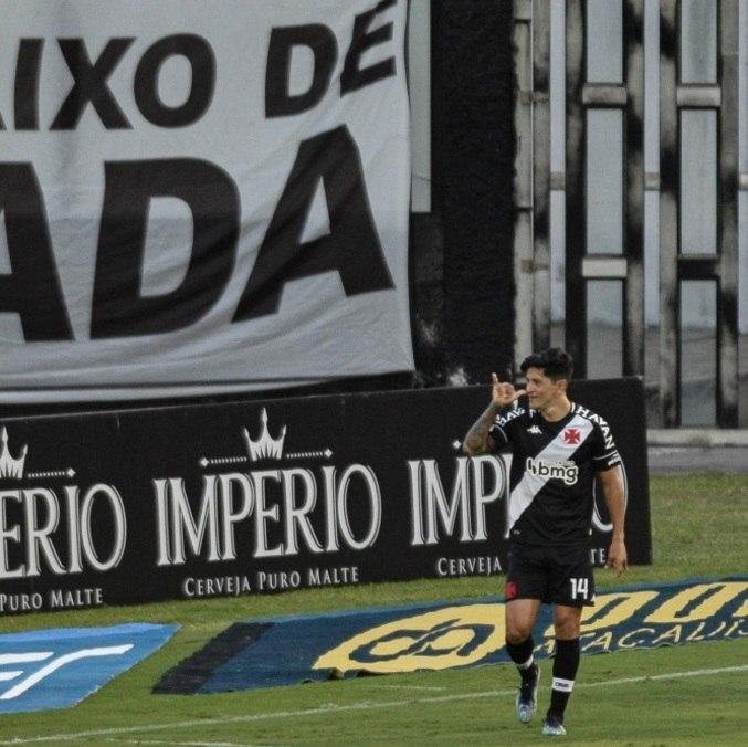 Argentino German Cano marca 2 gols na vitória do Vasco sobre o Resende