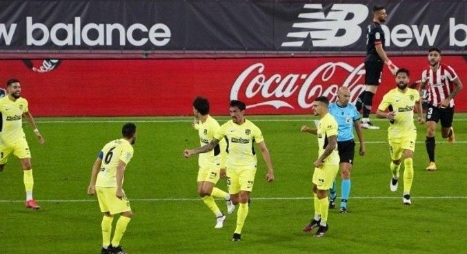 Atlético de Madrid perde fora de casa para o Bilbao pelo Campeonato Espanhol