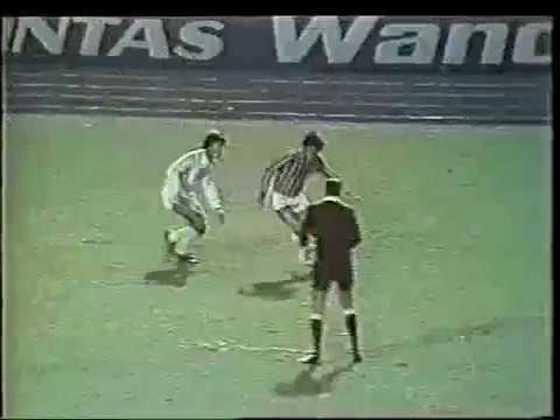 Campeonato Paulista 1978 - São Paulo x Santos - campeão: Santos. Após três partidas, o Peixe sagrou-se campeão em cima do Tricolor por conta da melhor campanha no terceiro turno do estadual.