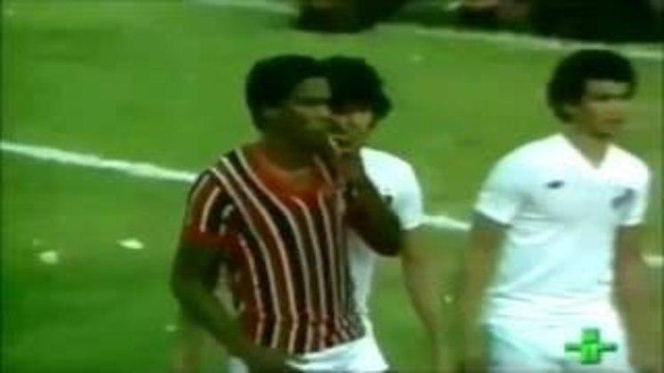 Campeonato Paulista 1980 - São Paulo x Santos - campeão: São Paulo. O Tricolor levou a melhor sobre o rival nas duas partidas, ao ganhar por 1 a 0 ambos os jogos. Serginho Chulapa marcou os dois gols nas decisões.