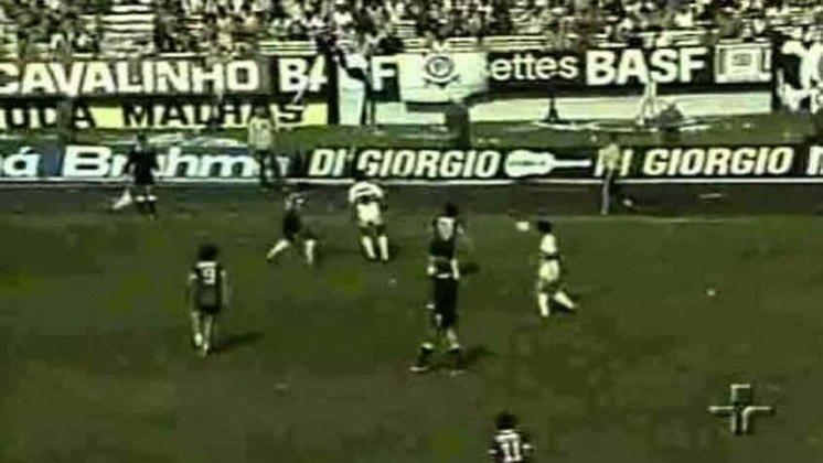 Campeonato Paulista 1982 - São Paulo x Corinthians - campeão: Corinthians. Em dois jogos no Morumbi, o Alvinegro venceu ambos. Na ida, 1 a 0 e na volta 3 a 1, para conquistar o título.