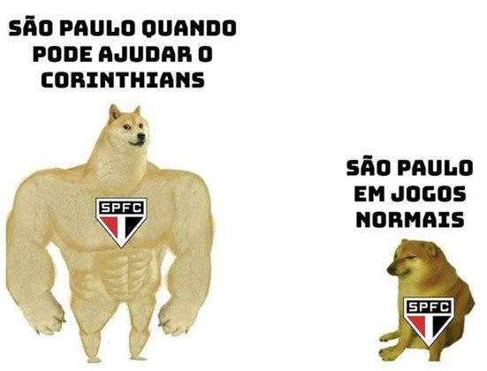 Campeonato Paulista: ajuda do São Paulo ao Corinthians rendeu brincadeiras na web