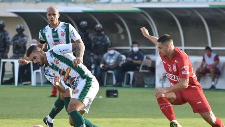 CAMPEONATO SERGIPANO: o Sergipe venceu o Lagarto por 3 a 1 no primeiro jogo da final do estadual, no sábado (15). A partida de volta será disputada no próximo sábado (22), às 17h30, no Barretão.
