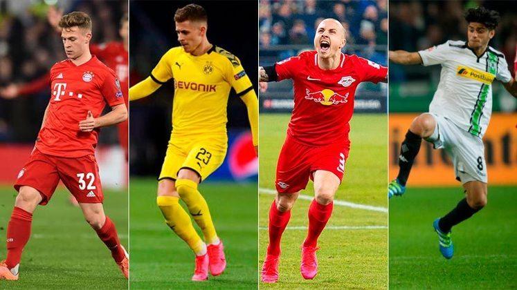 Alemanha (Bundesliga) - Bayern de Munique, Borussia Dortmund, RB Leipzig e Borussia Mönchengladbach serão os times representantes do país na próxima Champions League (2020/21)
