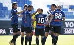 A Atalanta enfrentou a Cagliari, e conseguiu um placar de 5 a 2. A goleada teve gols de Luís Muriel, Papu Gómez, Pasalic, Duvan Zapata e Sam Lammers pelo lado da equipe da casa, e Diego Godin e João Pedro fizeram os gols da Cagliari