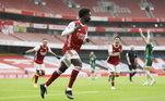 Pelo Campeonato Inglês, o Arsenal venceu o Sheffield United por 2 a 1. O time da casa contou com gols de Bukayo Saka e Nicolas Pépe, enquanto o Sheffield fez o gol de honra com David McGoldrick