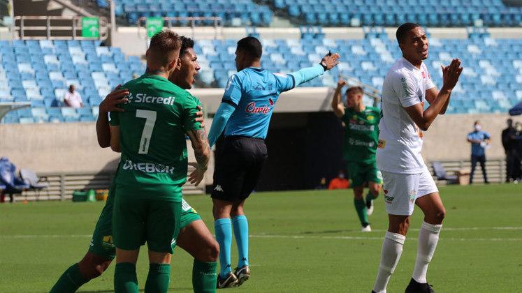 CAMPEONTAO MATO-GROSSENSE: no primeiro jogo da final, disputado neste domingo, na Arena Pantanal, o Cuiabá venceu o Operário-MT por 2 a 1. A segunda partida será disputada no próximo domingo (23), às 10h.