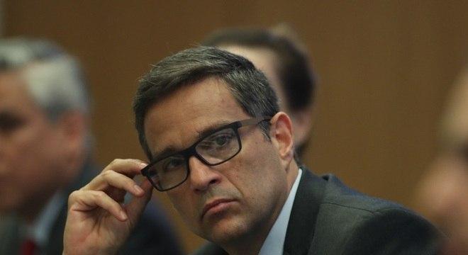 O presidente do Banco Central (BC), Roberto Campos Neto, em coletiva